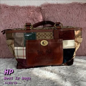 🎉HP🎉Limited Edition Coach tote